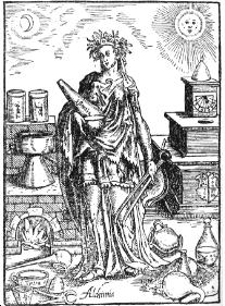 L\'alchimia nelle raffigurazioni esoteriche