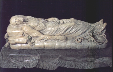 """Foto del """"Cristo velato"""" del Principe di San Severo"""