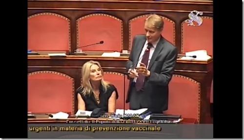 vaccini al senato